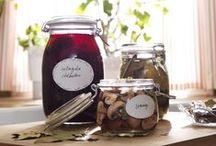Zaváranie/skladovanie / Domáce džemy, vlastnoručne vypestované bylinky, sušené huby, ktoré ste na jeseň nazbierali...