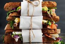 Sandwiches & Wraps / A board full of delicious sandwich & wrap creations. YUM.
