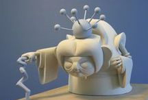 Sculptures (Character & Object) / Sculpted work (maquettes & novelty characters and objects)