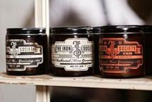 Branding (Men's Grooming) / Men's Grooming Branding (Focus on Packaging Design) (Shaving Cream/Butter/Gel, Aftershave, Beard/Mustache Wax, etc.) • Pinterest.com/ScottMonaco • More at: QuietYell.com