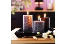 Sviečky a svietniky / Vytvárajú príjemné teplo domova...