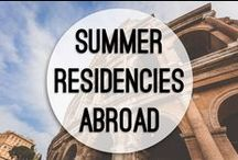 Summer Residencies Abroad / Our innovative summer semester allows students to explore a different international locale each summer, deepening their understanding of literature and culture around the world.