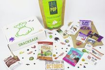 SnackSack Boxes / Every SnackSack we ever made for you to enjoy.