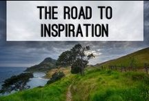 The Road to Inspiration / Want to visit the homes of writers? Who wouldn't want an inside look inside a famous writers home or their special getaway!