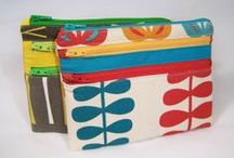 JUst ZiP iT! / Groovy little bags for bibs & bobs with zips...or not!