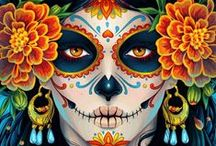diA dE Los MUErTos ~ DaY oF tHe DEaD / There is beauty in death.