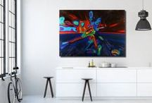 My Artworks at ARTFINDER / Artfinder is one of the largest online platform galleries for art. You can see my paintings here.