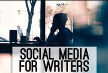 Social Media for Writers / Tips & tricks for using Twitter, Facebook, Instagram, Pinterest, and more in the pursuit of your writing goals.
