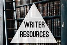 Writer Resources / Tips, tricks, web sites, and more: all in the service of furthering your pursuit of creative writing.