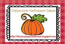 Classroom Halloween / Great Halloween Ideas for my first grade classroom / by Sue Schueller