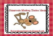 Classroom monkey theme / by Sue Schueller