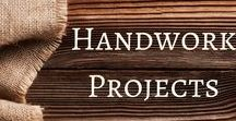Handwork Projects for Early Childhood / Amazing ideas for handworking with younger children to build critical fine motor skills. Tips and tricks to teach sewing, knitting, weaving, threading, and much more.