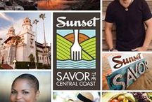 The Main Event / Sunset Savor the Central Coast, September 25 - 28.    This four-day culinary exploration will play host to a two-day Main Event held at the historic Santa Margarita Ranch on September 27 and 28, 2014. The Main Event will highlight the talents of winemakers, celebrity chefs, brew masters, fishermen, artisanal food producers, Sunset experts, and many more. Sip. Taste. Indulge. Time to Play. / by Sunset SAVOR the Central Coast