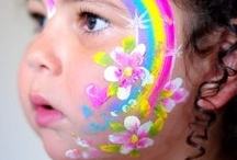 Kids Crafts-Face Painting Ideas  / by Cyndee Stahl