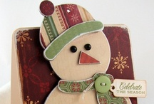 Cards-Christmas and Winter.  Tips, Tricks, and Ideas. / by Cyndee Stahl