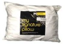 Bed Pillows: down and down alternative | Swanky Outlet | Discount pillows to 80% off / A mixture of down and down alternative high end designer bed pillows from the major department stores / by Swanky Outlet Bedding