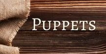 Puppets / Activities and ideas to enhance your puppet play!