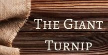 The Giant Turnip / Activities and ideas to accompany the fairy tale, The Giant Turnip.