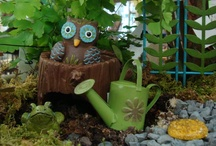 Fairy Gardening / We are crazy about fairy gardening!  Find inspiration among our design ideas.
