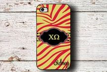 Chi Omega gift ideas / Monogrammed Chi Omega sorority items - officially licensed by Greek Licensing
