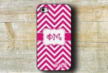 Phi Mu sorority big and little sister gifts / Monogrammed items make great big or little sister gifts.  Officially licensed Greek vendor.