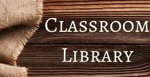 Classroom Library / Design and material ideas for the classroom library.