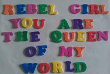 Rebel child, gone wild
