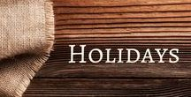 Holidays / Activities and ideas for the holidays.