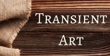 Transient Art Ideas / This board is dedicated to transient art ideas.