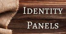 Identity Panels / Identity Panel ideas.