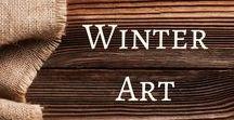 Winter Art / Winter art ideas for the early childhood classroom