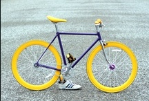 la brògna - the plum / Fixed Gear bicycle Hand Made Bicycle - 