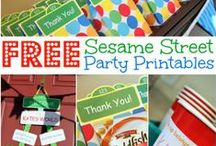 Birthday Ideas / Ideas for your next birthday party including recipes, printables, decorations and more!  From football, superheros, Sesame Street, Cars, Mickey Mouse and so much more!