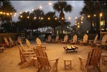 The Dunes / Communal Style Tables, Firepits, S'more Bars, Beer Canoes... the opportunities in this intimate space are endless. Perfect for a brunch, cocktail party, or full service dinner - the Dunes makes for the most wonderful memories... and photographs. / by The Beach House Weddings