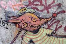 Streetart & Graffiti / Photos of Streetart & Graffiti I found all over Europe