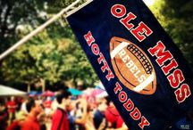 Ole Miss, By Damn! / Where the trees lift high their branches, to the whispering Southern breeze. There Ole Miss is calling, calling, to our hearts fond memories. / by Natalie Cannella