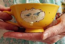 Teacups & teapots / We love cute, creative and sometimes cheeky teacups and teapots!