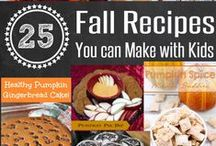 Fall Recipes / Here is a compilation of recipes that remind me of the Fall...dessert recipes, dinner recipes, snack recipes, and more!