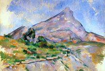 Cézanne / La vie de Paul Cézanne est faite d'échecs, de trahisons, de repliements, de contraintes, de bigoteries bizarres. Il n'a pas la folie de Van Gogh ni l'esprit de Degas. Il n'a même pas inventé la Provence. Il n'en fallait pas moins pour oser recommencer toute l'entreprise de peindre. / by Christophe Calame
