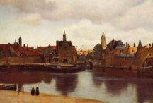 Vermeer de Delft / Johannes ou Jan Van der Meer, dit Vermeer ou Vermee de Delft (1632-1675), comme La Tour et quelques autres, est une pure découverte de l'histoire de l'art : ses 37 tableaux seulement connus à ce jour forment une limpide et parfaite constellation, que le marché n'avait de loin pas suffi à distinguer dans la production contemporaine. / by Christophe Calame