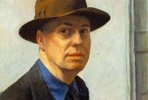 Hopper / Edward Hopper (1882-1967) a trimballé son malheur hébété et naïf à travers l'immensité déserte du Nouveau Monde, donnant lieu à une imagerie de l'Amérique, mais on voit bien qu'à Paris déjà, le vide était là, sensible jusque dans la plus belle ville du monde. / by Christophe Calame