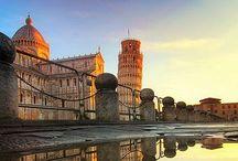 Toscana Toscane Tuscany / Quand j'étais petit, le monde autour de moi était triste, pauvre et gris. Mais il y avait, au loin, l'appel de la beauté, et la beauté habitait Florence, ses places et ses musées. Avant la Grèce, avant Rome, la Toscane a été pour moi une sorte d'état-civil pour la beauté. / by Christophe Calame