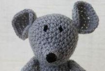 Andigurumi / Amigurumi-crochet toys for children.