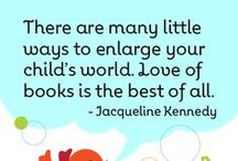 Favorite Quotes / Some of our favorite quotes about the joy and benefits of reading, playing, and singing with your children. Fun parenting quotes too!