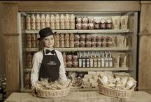 """Kumpel' shop - Кумпель крамниці / Kumpel' shop is traditional Galician  treats and beverages store. Here you can buy high quality organic products, made by """"Kumpel""""cooks or collected from trusted producers and farmers from all over Galicia."""