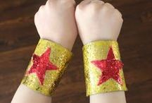 Little Super Heroes! / Ideas for superhero themed bedroom decor, birthday parties, and Halloween costumes.