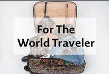 For The World Traveler / Explore our New Travel Collection featuring multi functional items for the world traveler in all of us! bit.ly/1VgX0N1