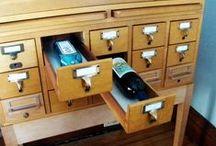 Always Keep Wine Handy / Wine storage, wine racks - any good way to keep your wine close at hand.