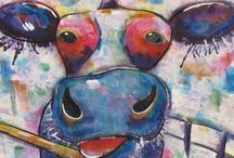 Cow - art