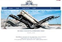 Korrus Italia / Site developed for the Italian branch of the Russian company specializing in machinery and technologies for road paving - http://www.korrusitalia.it/